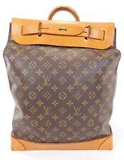 RARE Louis Vuitton Steamer 35 Bag Vintage Duffle Suitcase Travel Train Case B700