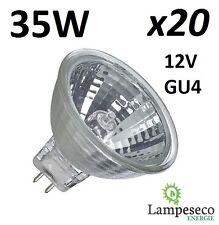 20 Ampoules dichroique halogène à économie d'énergie MR11 GU4 12V 35W (25W)