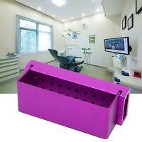 Scatola di disinfezione per porta frese dentali Autoclave in acciaio