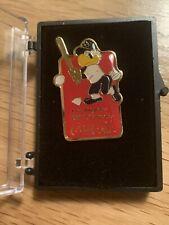 """1984 Olympics Coca-Cola """"Sam The Eagle"""" Baseball Pin"""