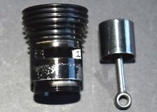 Refurbished: Cox .049 Airplane Engine Cylinder & Piston - Black Widow 049