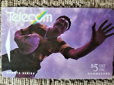 Telecom Phone Card. Sports Series. Rugby in New Zealand. New.