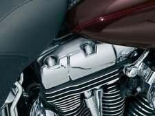 Kuryakyn Packed Rocker Box Bolt Covers (Set of 6) for Harley Twin Cam Chrome