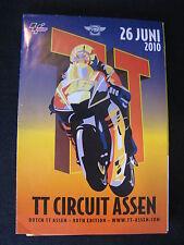 Flyer Dutch TT ( Assen ) 26 June 2010 (TTC)