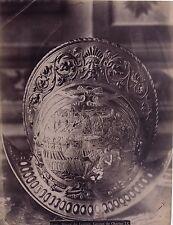 Louvre Paris Casque de Charles IX France Vintage albumine ca 1885