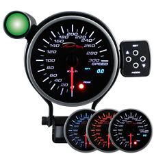 D Racing 95mm Velocità Strumentazione Strumento Tachimetro Calibro Warning