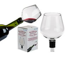 Novità BOTTIGLIA DI VETRO STOP TOP Turns Your Bottle of VINO to a vetro