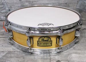 """Pearl JR-5314P Signature Snare 14"""" x 4"""" John Robinson Maple Drums •TOPZUSTAND•"""