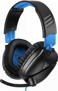 Turtle Beach - Recon 70 Wired Stereo Gaming Headset for PS4 PS5 Black/Blue NIB