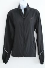 NEW BALANCE Womens Size 12 Medium Quick Dry Lightweight Black Polyester Jacket