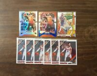 Ricky Rubio Panini Prizm Silver Holo, Red White Blue Holo and Donruss Optic Lot