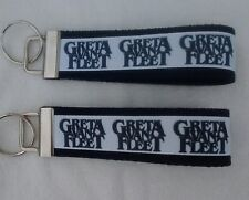 "Greta Van Fleet Frankenmuth Mi Rock Bands Music 6"" Key Fob Keychain Key Chain"