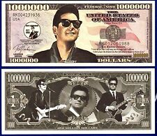 1-Roy Orbison Million Dollar Bill-W//clear protector sleeve-Music  Money ITEM-Q