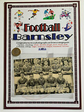 More details for barnsley 1950s squad picture signed by 11