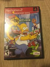 The Simpsons: Hit & Run (PlayStation 2, 2003) Untested