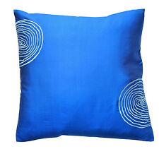 2 x 16'' 100% Thai Silk luxury cushion covers..
