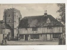 Westham Church & Houses Sussex Vintage Postcard 281b