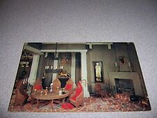 KNIGHTS of the ROUND TABLE in KING ARTHUR'S ROOM STUART CASTLE SD. POSTCARD