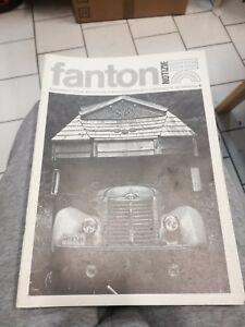 Magazine Architecture Design Graphic Arte Decor Fanton N.6 1979