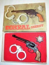 MONDIAL MOLGORA_PISTOLA_CORRAL SHERIFF_SCATOLA_STELLA_MANETTE_ESTETICA_ECCELLENT
