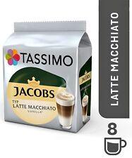 1 X Pack Tassimo Jacobs Latte Macchiato Vainilla T Discos Discos De 8 bebidas vainas 16 T