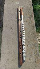 Wooden Alto Flute Key of Eb  Bansuri  .