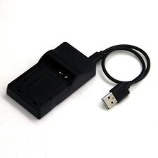 USB Battery Charger for Pentax Optio 230 30 330GS 33L 33WR 43WR S30 S40 S45 S50