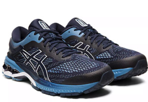 ASICS GEL-Kayano 26 Men's Running Shoes 1011A541-400 ~ Midnight/Grey Floss