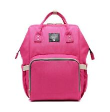 NEW! BABY/MATERNITY DIAPER/NAPPY BACKPACK BAG (PINK)