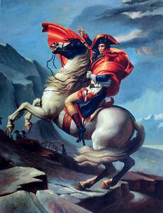 "Napoleon Bonaparte Oil Painting Collectible Wall Decor Art Size 30"" x 40"" New"