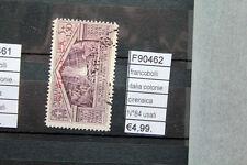 FRANCOBOLLI ITALIA COLONIE CIRENAICA N°84 USED USATI (F90462)