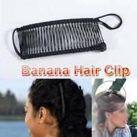 Vintage Banana Hair Clips Christmas Hair Accessory Stretchable-Banana Comb Gifts
