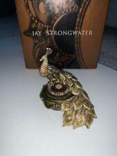 New ListingJay Strongwater Peacock Trinket Box Swarovski ® Crystal