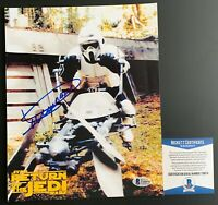 Dickey Beer Autographed Star Wars Stormtrooper 8x10 Photo Signed Beckett COA