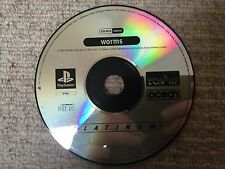 Worms - Sony Playstation PS1 DISK ONLY UK PAL