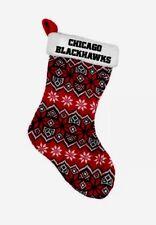 NHL Chicago Blackhawks Holiday Christmas Stocking New Hockey