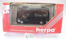 Herpa 1/87 184809 Mercedes Benz Sprinter LKW Kasten GTI Geßlein Trans. OVP #6079