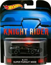 Hot Wheels EL COCHE FANTÁSTICO KNIGHT RIDER Retro K.I.T.T. SUPER PURSUIT MODE