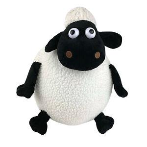 Shaun the Sheep Fat Round Sheep Plush Stuffed Soft Toy 27cm