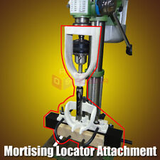 Mortising Locator Set Of Bench Drill For Chisels Woodworking Machine With 4 Bits