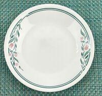 Corelle Dessert/Bread & Butter Plates Set of 4 Rosemarie Green Tulip Design