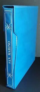 San Marino 1959-80+1982-93 inizio collezione con PO+PA montata su fogli Marini