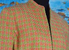 Evan Picone Women's Blazer Size 12 Straight Coat Career Colorful Jacket Business