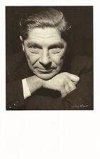 "Postcard Ida Kar ""Arthur Koestler"" 1959 Nat'l Portrait Gallery UK MNT"