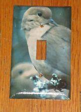 WILD DOVE WILD GAME BIRD LIGHT SWITCH COVER PLATE