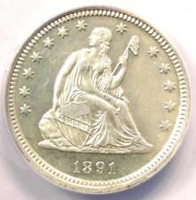 1891 PROOF Seated Liberty Quarter 25C Coin - ANACS PR64 (PF64) - $1,160 Value!