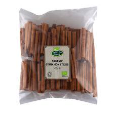 Organic True Ceylon Cinnamon Sticks / Quills 500g Certified Organic
