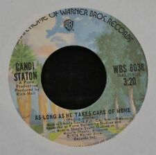 Candi Staton WB 8038 As Long As He Takes Care of Home and A Little Taste of Love