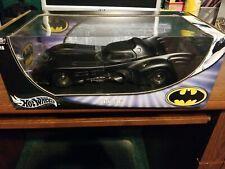 1989 Batmobile Hot Wheels Bat Mobile 2003 Batman Returns 1:18 Metal Collection