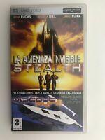 La Minaccia Invisibile Stealth UMD Video Per Psp + 3 Livelli Set Spagnolo Am